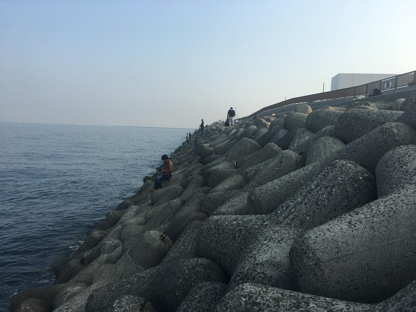 貝塚人口島テトラ2