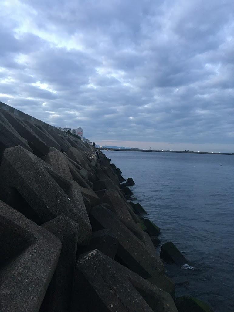 助松埠頭沖向き